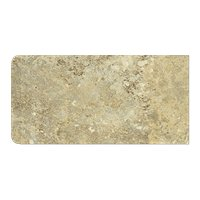 Imperial Beige RES (Single Bullnose Short Side) 4 x 8 in