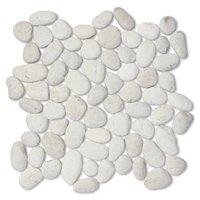 White Pebbles Medium 12 x 12 in