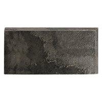 Silver Grey Polished REXR 3 x 6 in
