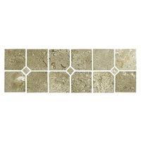 Jinshan Carmel Polished Punctum Listello 2 x 12 in