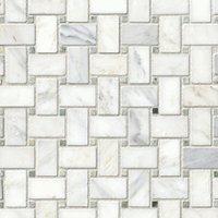 Biltmore Niles Marble Mosaic Tile - 12 x 12 in.