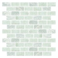 Biltmore Tumbled Cardine 1 X 2 In Marble Mosaics Tile