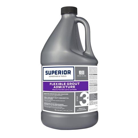 Superior Flexible Grout AdMixture - 1 Gallon