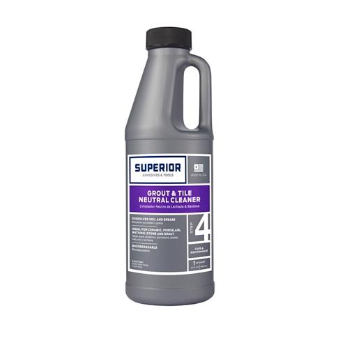 Superior Grout & Tile Neutral Cleaner - 1 Quart