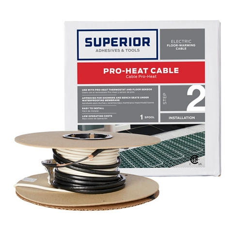 Pro Heat Wire - 25 sf with 2.5 in. spacing