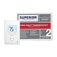 Pro Heat Non-Programmable Core Thermostat 120/240V