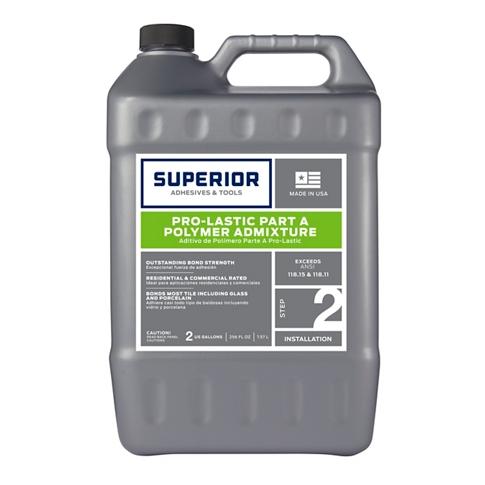 Superior Pro-Lastic Liquid Polymer Admixture - 2 Gallon