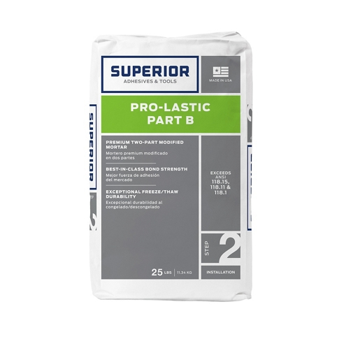 Superior Pro-Lastic Powder White - 25 lb