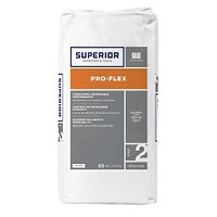 Superior Pro-Flex Latex Fortified Thinset Mortar White - 50 lb