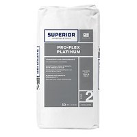 Superior Pro-Flex Platinum Thinset Mortar - White 50 lbs.