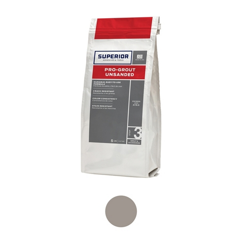 Superior Unsanded Pro-Grout London Fog - 5 lb