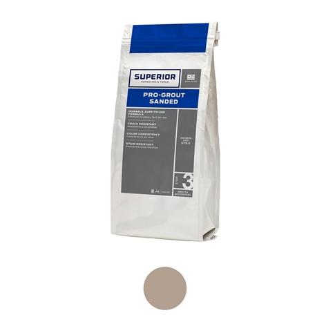 Superior Sanded Pro-Grout Sand Beige - 9 lb