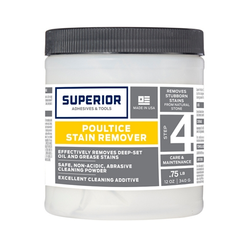 Superior Marble Poultice Stain Remover - .75 lb
