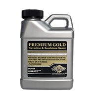 Superior Premium Gold Trav/Sand Natural Stone Tile Sealer - Pint