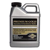 Superior Premium Gold Trav/Sand Natural Stone Tile Sealer - Quart