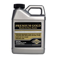 Superior Premium Gold Marb/Onyx Natural Stone Tile Sealer - Quart