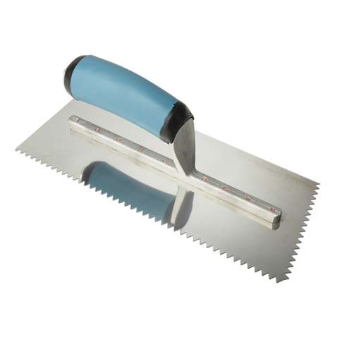 PRO Series V-Notch Trowel - 3/16 in