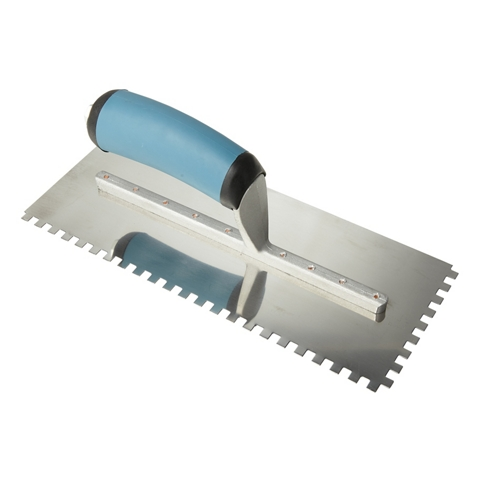 PRO Series Square Notch Trowel - 1/4 in