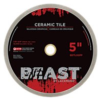 Lackmond Beast Wet Saw Blade - 5 in