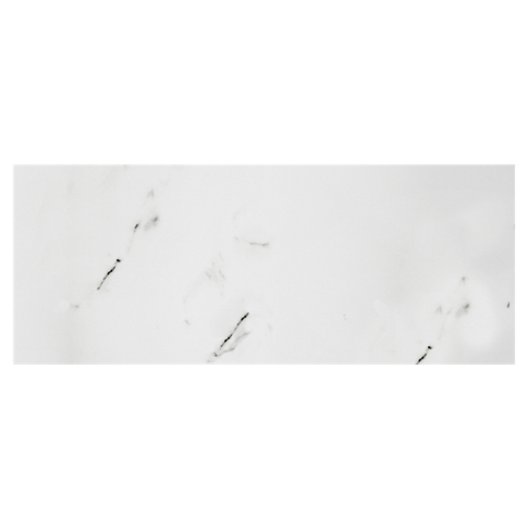 Calacutta Bianco Matte Ceramic Wall Tile - 8 x 20 in