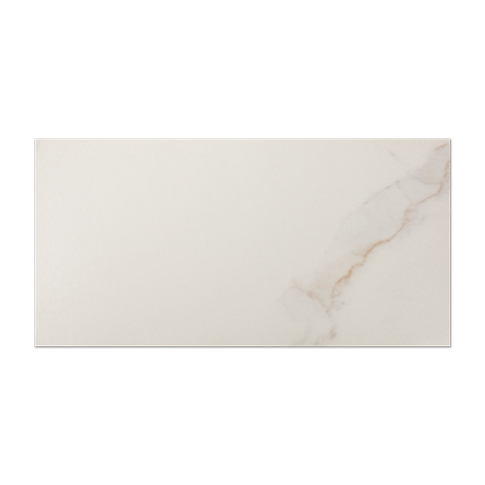 Calacutta Creme Matte Ceramic Subway Wall Tile - 3 x 6 in