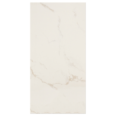 Calacutta Creme Matte Ceramic Wall Tile - 12 x 24 in