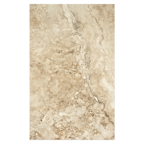 New England Noce Ceramic Wall Tile - 10 x 16 in