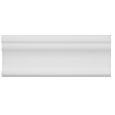 Imperial Bianco Gloss London Ceramic Wall Tile - 2 x 8 in