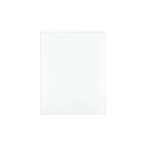 Sorbona White Ceramic Wall Tile - 10 x 13 in