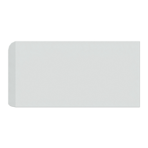 Imperial Gris Gloss RES Single Bullnose Short Side Ceramic Wall Tile - 4 x 8 in
