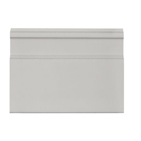 Imperial Gris Gloss Skirting Ceramic Wall Tile - 5.875 x 8 in