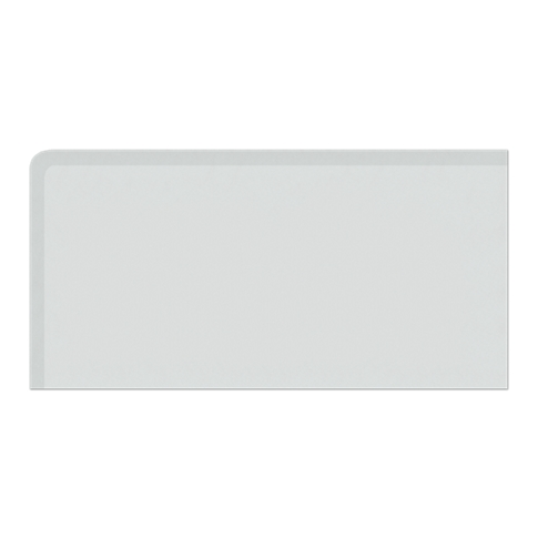 Imperial Gris Matte REXL (Double Bullnose Left Side) 4 x 8 in
