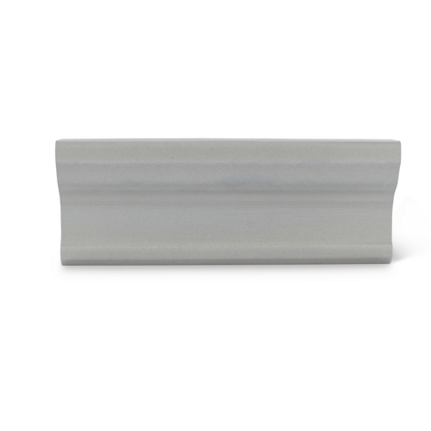 Imperial Gris Matte Cornice Ceramic Wall Tile - 3 x 8 in