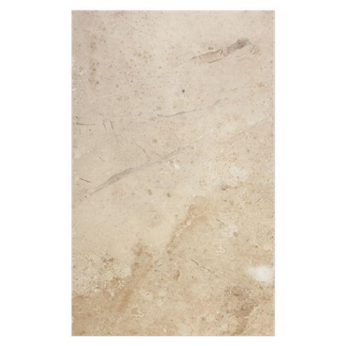 Parteanon Almond Ceramic Wall Tile - 10 x 16 in