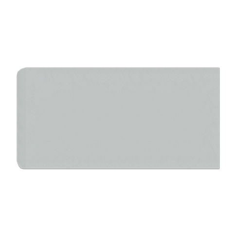 Imperial Ice Grey Gloss RES (Single Bullnose Short Side) 4 x 8 in