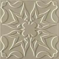 Flow 1 Greige Ceramic Wall Tile - 8 x 8 in