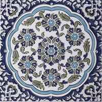 Victoria and Albert Galicia Decor Ceramic Wall Tile - 8 x 8 in