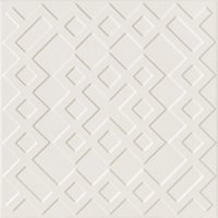 Flow 3 Nude Ceramic Wall Tile - 8 x 8 in