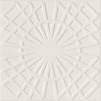 Flow 5 Nude Ceramic Wall Tile - 8 x 8 in
