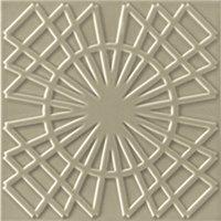 Flow 5 Greige Ceramic Wall Tile - 8 x 8 in