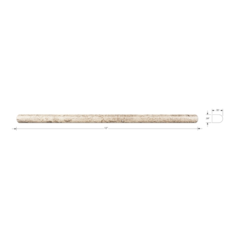 Driftwood Polished Durand  12 in