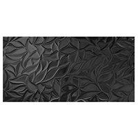 Exclusive Black BRL-R Ret Ceramic Wall Tile - 22 x 43 in