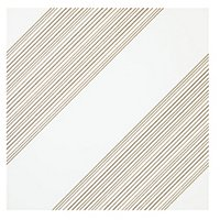 Outline 1 White Gold AC Ceramic Wall Tile - 11 x 11 in