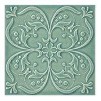 Twenty TD Green BR 3 Porcelain Wall Tile - 7 x 7 in