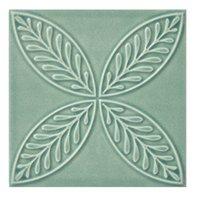 Twenty TD Green BR 5 Porcelain Wall Tile - 7 x 7 in