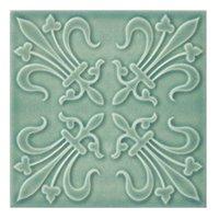 Twenty TD Green BR 6 Porcelain Wall Tile - 7 x 7 in