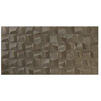 Cube Gold AC Ceramic Wall Tile - 18 x 35 in