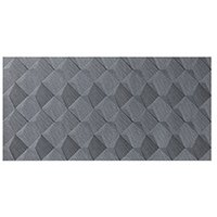 Box Silver AC Ceramic Wall Tile - 18 x 35 in