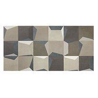 Munari Shadow Mix Blue MA Ceramic Wall Tile - 18 x 35 in