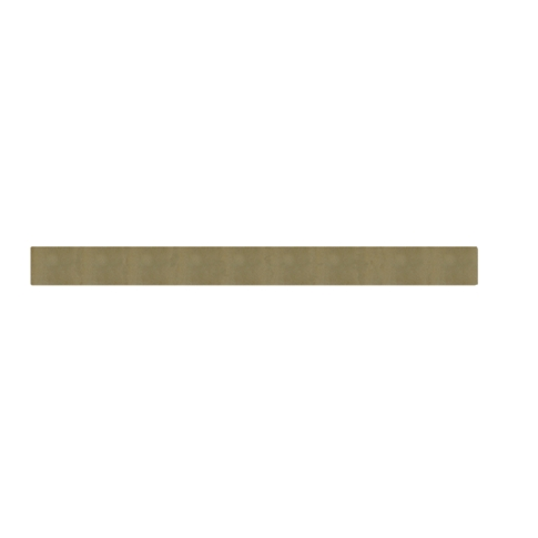 Dune Glass Brule Glass Mosaic Tile - 0.625 x 6 in.